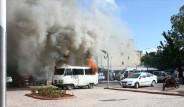 Minibüsçülerin Eylemi Belediye Binasını Yaktı