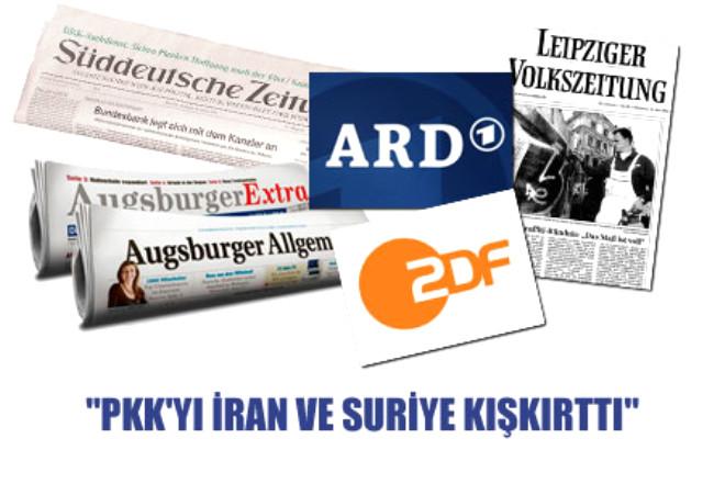 'PKK'yı İran ve Suriye Kışkırttı'