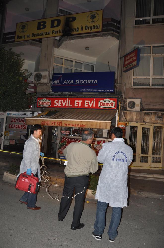 PKK Protestosuna Polis Müdahalesi