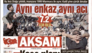 Van Depremi Manşetlere Böyle Yansıdı
