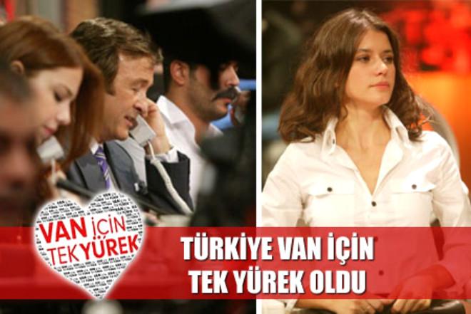 Türkiye Van İçin Tek Yürek Oldu