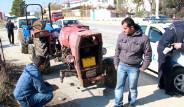 Tek Tekerlekli Traktör Polisi Şaşırttı
