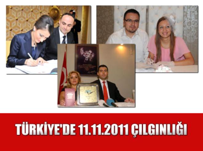 Türkiye'de 11.11.2011 Çılgınlığı