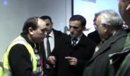 Erzincan Valisi Mahsur Kaldı
