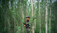 ABD Üniformalı PKK'lı TIME'de