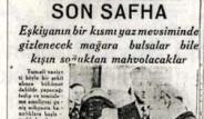 Dersim 1937'de Manşetlere Böyle Yansıdı
