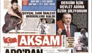 Dersim Özrü Gazete Manşetlerinde