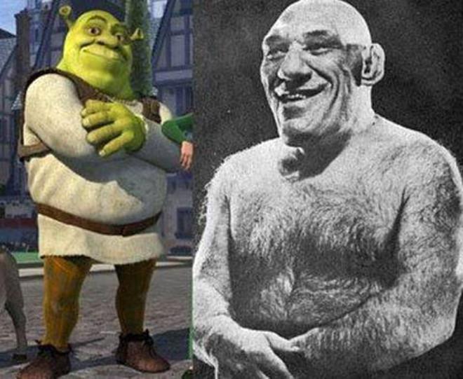 Aslında Shrek Gerçekmiş