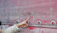 Suriye'de Türk TIR'ına 12 Kurşun