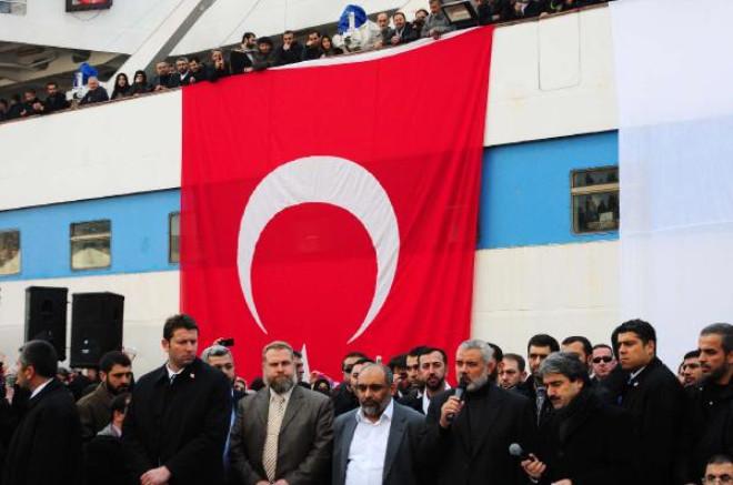 Filistin Başbakanı Mavi Marmara'da