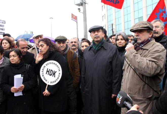 Taksim'de 'Uludere' Protestosu