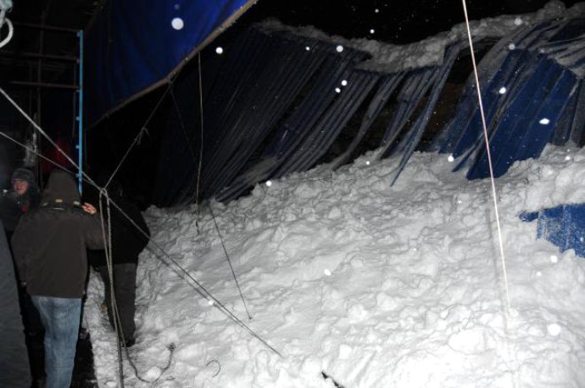 Zonguldak'ta Kar Faciası