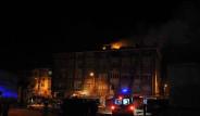 Edirne'de 4 katlı Binada Yangın