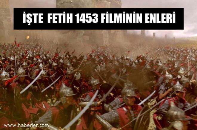Fetih 1453 Filminin Enleri