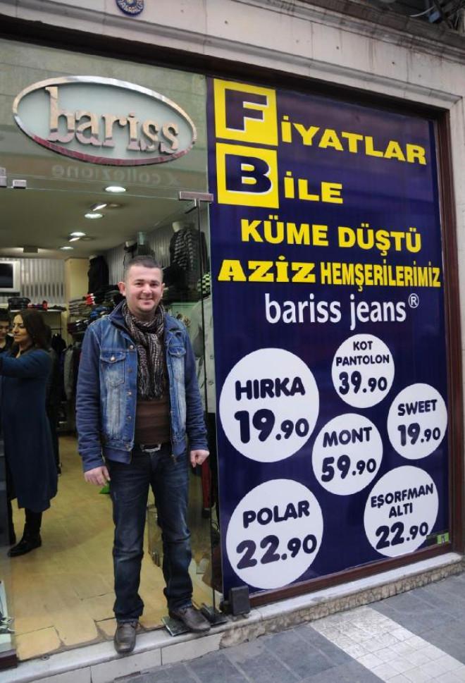 Trabzon'da Fenerbahçe'ye Afişli Gönderme