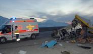 AK Parti İl Başkanı Kaza Yaptı