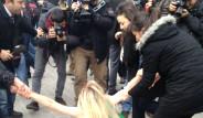FEMEN'lere Türk Polisi Müdahalesi!