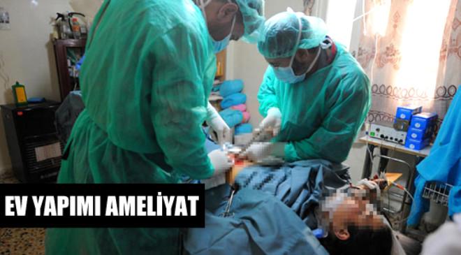 Suriye'de 'Ev Yapımı' Ameliyat