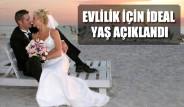 Evlilik İçin İdeal Yaş Açıklandı