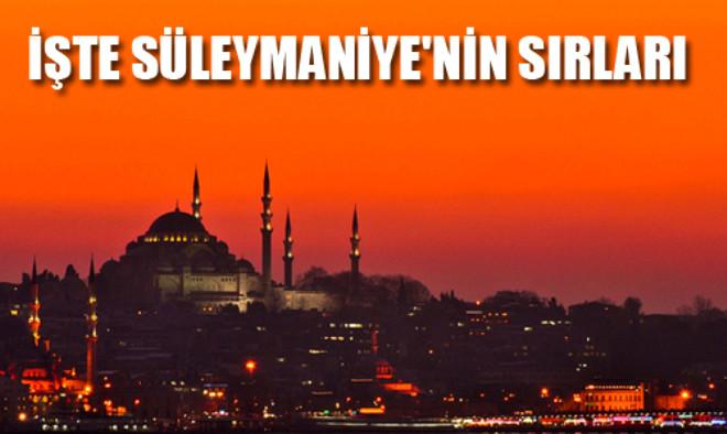 Süleymaniye Camii'nin Müthiş Sırrı