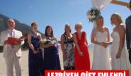 Lezbiyen Çift Fethiye'de Evlendi