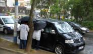 Minibüsten Erdoğan'a Tehdit Notu Çıktı