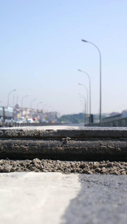 Haliç Köprüsü'nde Çökme