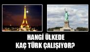 Hangi Ülkede Kaç Türk Çalışıyor?