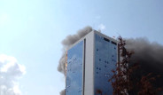 42 Katlı Polat Towers'da Yangın