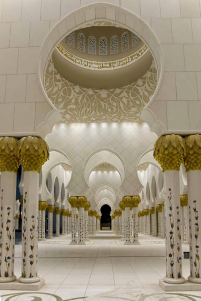 Abu Dabi'nin Görkemi Şeyh Zayed Camii