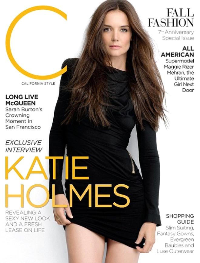 Katie Holmes Boşanma Sonrası Açıldı