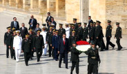 Erdoğan'dan Anıtkabir'de Suriye Mesajı