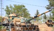 Suriye Sınırında Tank Tatbikatı