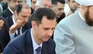 Esed Şam'da Bayram Namazı Kıldı
