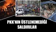 PKK'nın Üstlenemediği Saldırılar
