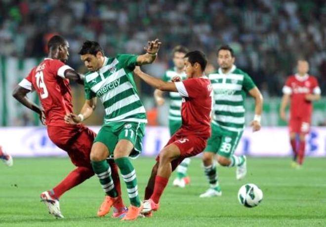 Bursaspor - Twente Maçı