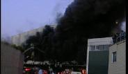 Tuzla Deri Sanayi Bölgesinde Yangın