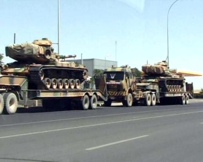 Suriye Sınırına Tank Yığdık