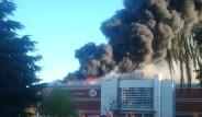 Alışveriş Merkezinde Korkutan Yangın