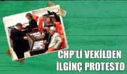 CHP'li Vekilden Şaşırtan Hareket!