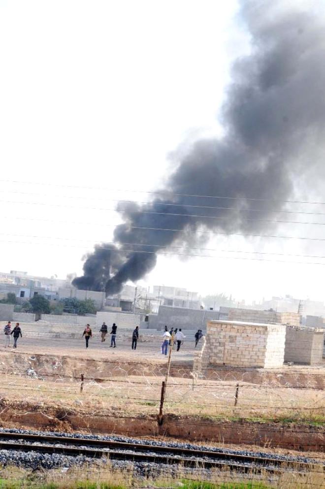 Suriye Resulayn'ı Bombaladı