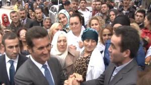 Mustafa Sarıgül'ü Ağlattılar