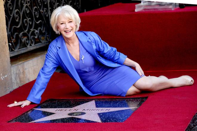Helen Mirren 'Yıldızına' Kavuştu