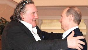 Depardieu Rus Pasaportunu Aldı