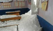 Okulun Üzerine Çığ Düştü