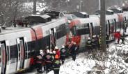 Viyana'da Tren Kazası
