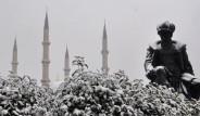 Kar Edirne'den Giriş Yaptı