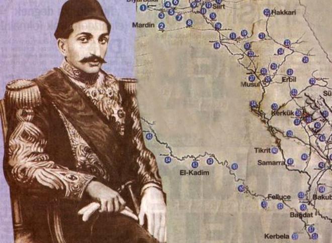 Abdülhamid'in Petrol Haritasındaki 65 Nokta
