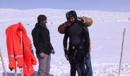 Buz Tutan Göl'de İlk Deneme Dalışı