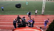 Futbolculara Biber Gazlı Müdahale